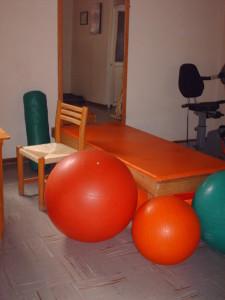 Area terapia fisica